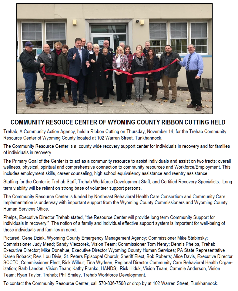 Resource Center Ribbon Cutting